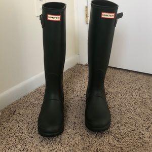 Hunter tall original boots